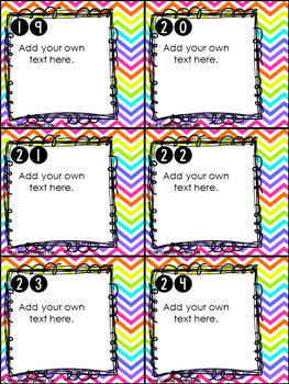 Editable Scoot Cards: Create Your Own Scoot Game Templates
