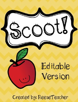 Editable Scoot Game!