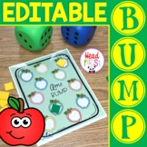 Editable Seasonal BUMP Games for Math or ELA Centers   Christmas Holiday Center