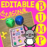 Editable BUMP Addition Math Games for Fact Fluency Practice