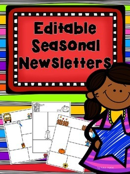 Editable Seasonal Newsletters