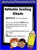 Editable Seating Charts