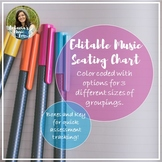 Editable Seating Chart and Assessment Tracker