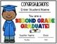 Editable Second Grade Diploma