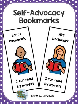 Editable Self-Advocacy Bookmarks