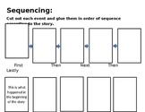 Editable Sequencing Worksheet