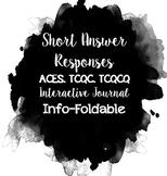 Editable Short Response Info-Foldable