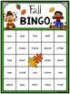 Editable Sight Word Bingo Game - Fall Bingo