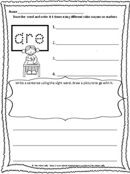Editable Sight Word Fun!