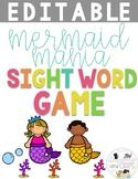 Editable Sight Word Game- Mermaid Mania!