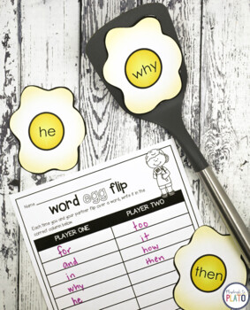 32 Sight Word Games - EDITABLE