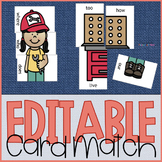Editable Sight Word Game
