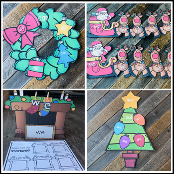 Editable Sight Word Games, Printables & Activities December (Holiday)