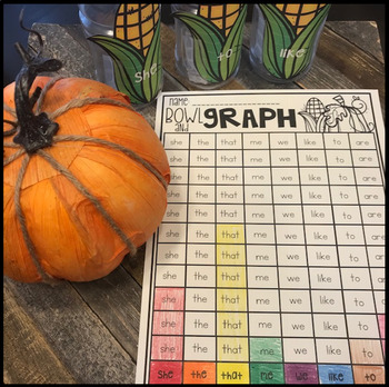 Editable Sight Word Games, Printables & Activities November (Thanksgiving)
