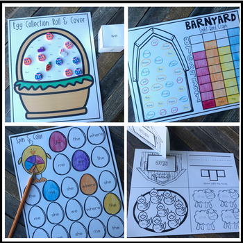 Editable Sight Word Games, Printables & Activities for Spring FREEBIE