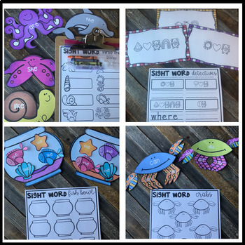 End of the Year Editable Sight Word Games, Printables & Activities May