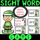 Editable Sight Word Matching Game - Elf Themed
