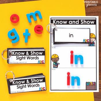 Editable Sight Word Practice