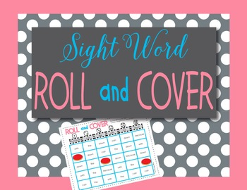 Editable Sight Word Roll & Cover