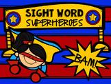 Editable Sight Word Super Hero Classroom Kit