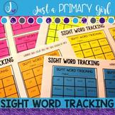 Editable Sight Word Tracking