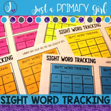 Editable Sight Word Tracking {Sticky Notes}