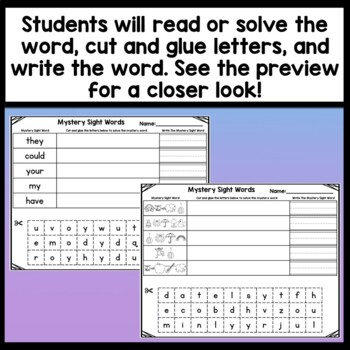 Editable Sight Word Worksheets {Auto-Fill} Editable Spelling Word Worksheets