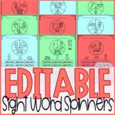 Sight Word Games Editable { Community Helpers }