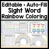 Editable Spelling Activities {Auto-Fill 5 Pages of Colorin