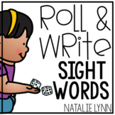 Editable Sight Word Worksheets | Editable Roll and Write Sight Words