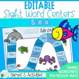 Editable Sight Words and Games