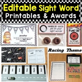 Editable Sight Words Activities, Printables, Awards, Treat