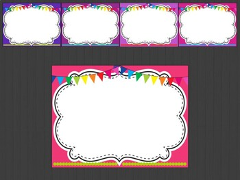 Editable Signs Posters : White Board Theme, Back to School, First Last Day