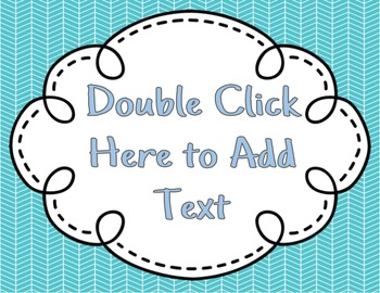 Editable Signs in PowerPoint