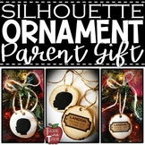 *FREEBIE* Editable Silhouette Ornament Name Plaques