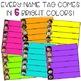 Name Tags {Editable Skinny Name Tags - Melonheadz Edition}