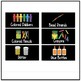Editable Small Black Classroom Supply/ Teacher Toolkit Labels - Primary Font