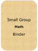 Editable Small Group Note Taking Forms
