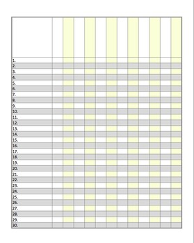 Editable Small and Large Class Lists