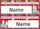 Editable Smart Cookie Desk Name Plate Set -Zaner Bloser font