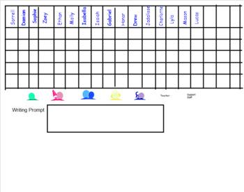 Editable Smartboard Rotation Board for CAFE