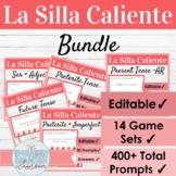 Editable Spanish Activity Bundle   La Silla Caliente