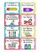 SPANISH Editable Classroom Labels with Visuals { for Little Learners }