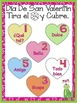 Editable Spanish Conversation Hearts. Roll, Read and Cover!