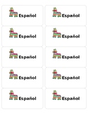 Editable Spanish Labels