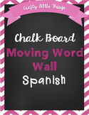 Editable Spanish Moving Word Wall