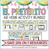 Spanish Preterite AR Verbs Activity Bundle - Distance Learning