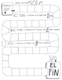 Editable Spanish game board ~verb conjugation ~vocabulary ~customize ~games
