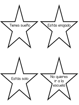Editable Speaking Game activity - Spanish and English version