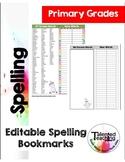 Editable Spelling Bookmarks